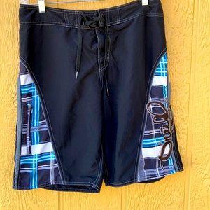 O'NEILL Board Shorts Swim Trunks size 32 Black